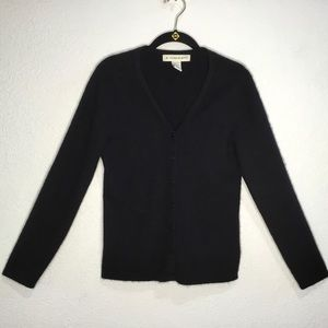 A. Giannetti 100% cashmere button front cardigan